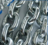 Сваренная электрическая гальванизированная цепь такелажирования нержавеющей стали анкера соединения DIN5685 /DIN766/DIN763 короткая