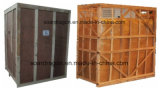 屋外の冷たい給油所の使用のための壁によって袋に入れられる氷の収納用の箱