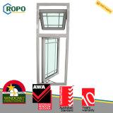 Plastikfenstertür der Doppelverglasung-UPVC mit Gitter-Entwurf