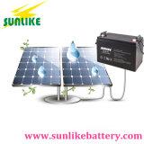 bateria profunda solar recarregável do gel do ciclo 12V100ah para o sistema de alarme