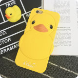 Fábrica Price Soft Cartoon Silicone Bumper Cell/Mobile Phone Caso para o iPhone 4/5/6