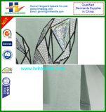 Maglietta del manicotto di nuova di disegno delle signore METÀ DI stampa del cotone