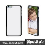 Tampa do telefone do Sublimation de Bestsub para a tampa positiva do iPhone 6, para a tampa do iPhone (IP6PK01K)
