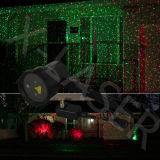 Iluminación impermeable al aire libre de la etapa de la luz laser de la Navidad, iluminación de la etapa del laser de Garden&Lanyard para la decoración de la Navidad