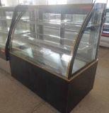 Die doppelte automatische Lichtbogen-Luxuxform entfrosten Kuchen-Verkaufsmöbel