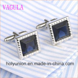 Conexiones de pun¢o francesas del diamante de la camisa de los hombres de VAGULA Gemelos 339