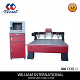 Máquina do CNC do Woodworking do router do CNC de Certifiate do CE (VCT-1518W-4H)