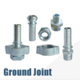 Accoppiamento d'acciaio placcato zinco della giuntura a terra della sporgenza per il tubo flessibile del vapore