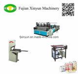 Cadena de producción semi automática de máquina de la fabricación de papel de tejido de tocador del precio bajo