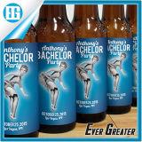 Изготовленный на заказ ярлык логоса кольца бутылки пива конструкции картины