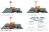 Vollautomatische konkrete Farben-Straßenbetoniermaschine-Ziegeleimaschine