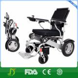 Безщеточная кресло-коляска силы Moter портативная сложенная электрическая