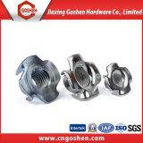Noix galvanisée de griffe de /Four de noix de l'acier du carbone T/4 fourches Nuts