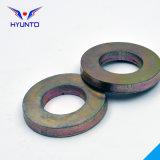 Rondelle plate avec le zinc de couleur
