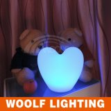 Indoor Usado Atacado Heart Shaped Flashing LED Light