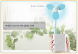 Mini ventilateur portatif se pliant d'USB pour le cadeau de promotion (ID556)