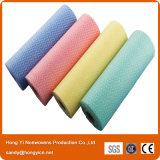 Rullo non tessuto dei Wipes di pulizia del tessuto di Spunlace di alta qualità