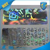 De open Nietige Holografische Nietige Sticker van het Hologram