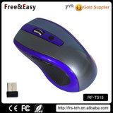 컴퓨터 마우스 USB 광학적인 2.4G 무선 무언 마우스