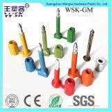 Joint en plastique de boulon de garantie d'injection de vente en gros d'usine de cadenas de Foshan