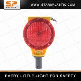 Lumière d'avertissement solaire de barricade de circulation de DEL pour le cône de circulation