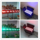 luz cambiante del color de 18W Rgabwuv 6in1 LED para la boda