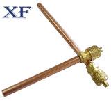 Xf клапан доступа обслуживания меди 1/я дюймов для кондиционера