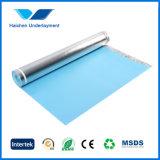 IXPE a prova d'umidità Foam Underlay per Laminated Floor con Aluminum Foil