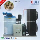 Máquina de gelo de refrigeração ar do floco