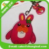 Förderung-Geschenk-reizende Maus PlastikKeychain (SLF-MK011)