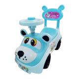 Carro azul do Wiggle do carro da corrediça dos miúdos da cor com projeto novo