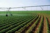Grand système d'irrigation de pivot de centre de terres cultivables