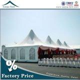 7m X 7m de Pagode Tents van Large Luxury Wedding met Chiffon Decoration