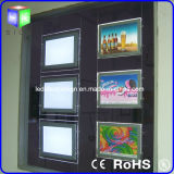 Real EstateのProperty Showcase Usedのための水晶LED Window Light Box
