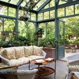Prédio de vidro laminado de alumínio Conservatório Garden Room (FT-S)