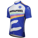 Luva curta personalizada de Honoraqpparel 2016 venda quente que dá um ciclo Jersey
