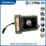 Explorador de diagnóstico veterinario aprobado del ultrasonido del equipo del CE (YSD3300-Vet)