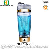 la bouteille en plastique portative de protéine du vortex 600ml, BPA libèrent la bouteille électrique en plastique de dispositif trembleur (HDP-0729)