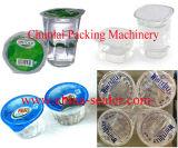 Máquina automática linear del lacre de la taza