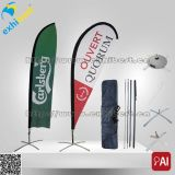 Digital-Abdruck-im Freienstrand-Markierungsfahnen-Fahne