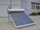 Экономия энергии Низкое давление солнечный подогреватель воды