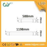 CE RoHS Aprobado tubo de luz de alta lúmenes LED T8