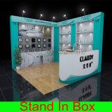 Cabine réutilisable modulaire portative respectueuse de l'environnement d'exposition de salon
