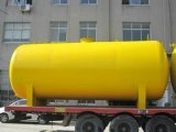El tanque horizontal del polipropileno de la presión inferior