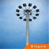 lâmpada de rua 35m elevada do mastro de 15m 20m 25m 30m com a lâmpada do sódio 400-1000W