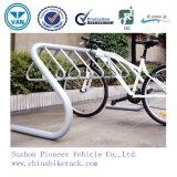 Branco para 7 bicicletas Bike Parking Bike Stand