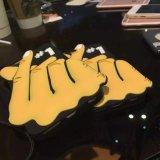 горячее аргументы за iPhone6 силикона жеста сердца 3D