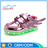 Chaussures de clignotement de patin occasionnel beau d'enfants, espadrilles des gosses DEL