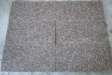 Populärer Granit des Polierpfirsich-Rosa-Granit-Ziegelsteines, Granit-Fliesen für Floor