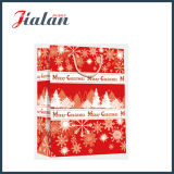 Подгоняйте бумажный напечатанный мешок подарка несущей покупкы рождества 4c бумажный